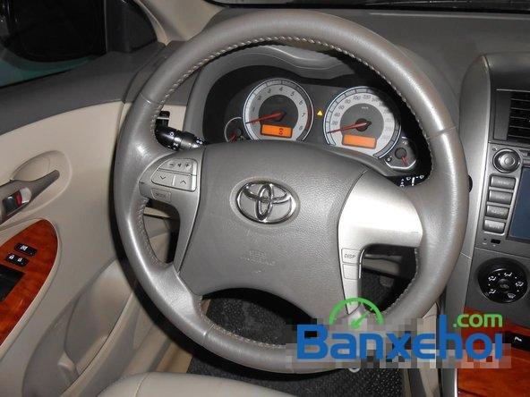 Cần bán lại xe Toyota Corolla altis 1.8 G đời 2010, màu đen đã đi 50000 km-10