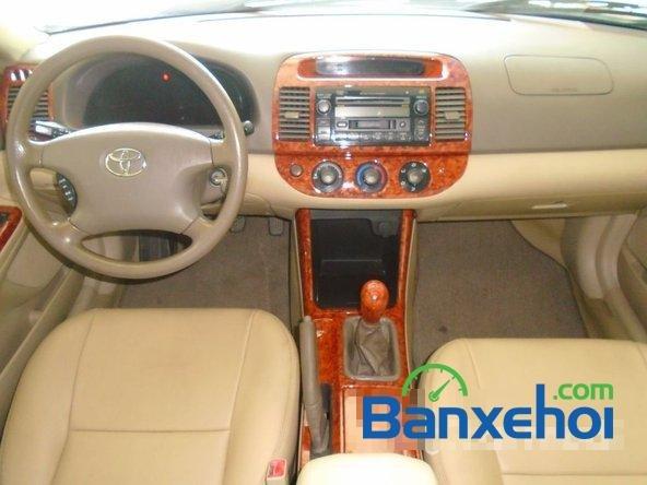Bán ô tô Toyota Camry đời 2003, màu đen, nhập khẩu đã đi 86200 km-7