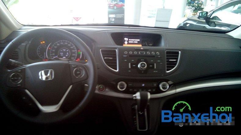 Cần bán Honda CR V 2.0AT đời 2015, màu xanh lam-11