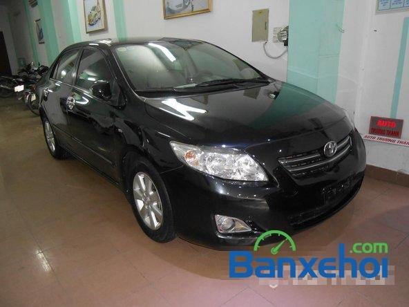 Cần bán lại xe Toyota Corolla altis 1.8 G đời 2010, màu đen đã đi 50000 km-0