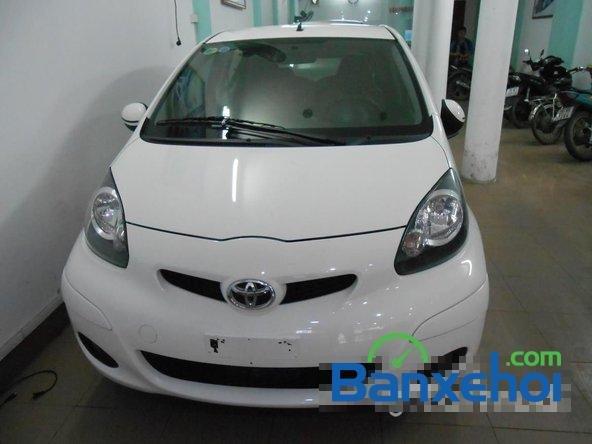 Bán ô tô Toyota Aygo đời 2011, màu trắng đã đi 40000 km, giá chỉ 470 triệu-0