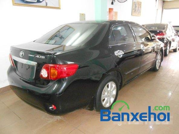 Cần bán lại xe Toyota Corolla altis 1.8 G đời 2010, màu đen đã đi 50000 km-2