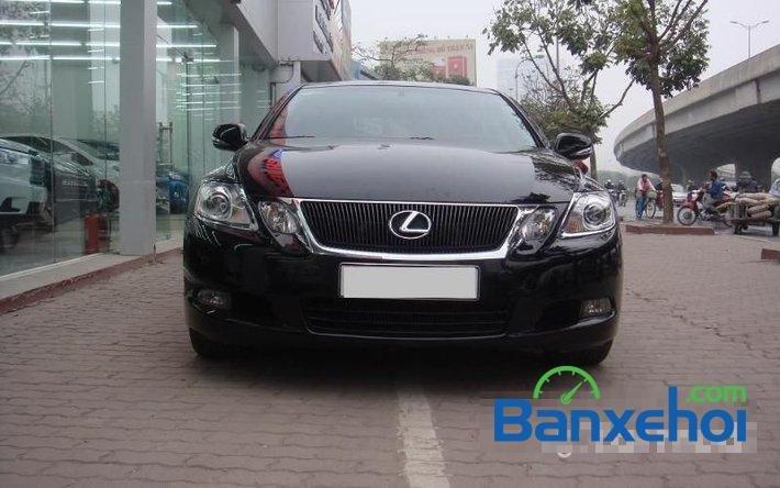 Cần bán xe Lexus GS 350 sản xuất 2009, màu đen, nhập khẩu nguyên chiếc đã đi 35000 km-0