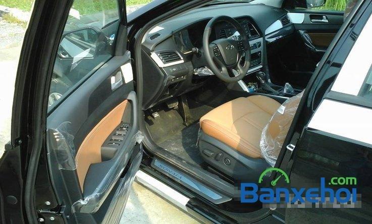 Bán Hyundai Sonata sản xuất 2014, màu đen, nhập khẩu chính hãng -3