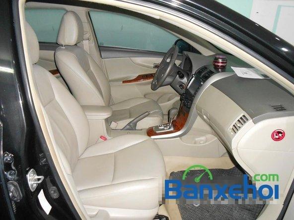 Cần bán lại xe Toyota Corolla altis 1.8 G đời 2010, màu đen đã đi 50000 km-6