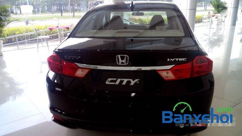 Cần bán Honda City 1.5L sản xuất 2015, màu đen-5