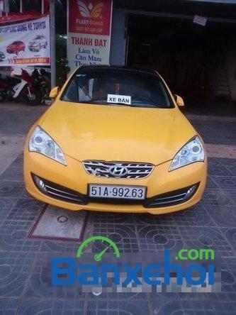 Xe Hyundai Genesis sản xuất 2008, màu vàng, nhập khẩu số tự động, 640 triệu-0
