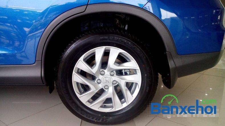 Cần bán Honda CR V 2.0AT đời 2015, màu xanh lam-1