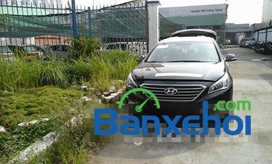 Bán Hyundai Sonata sản xuất 2014, màu đen, nhập khẩu chính hãng -0