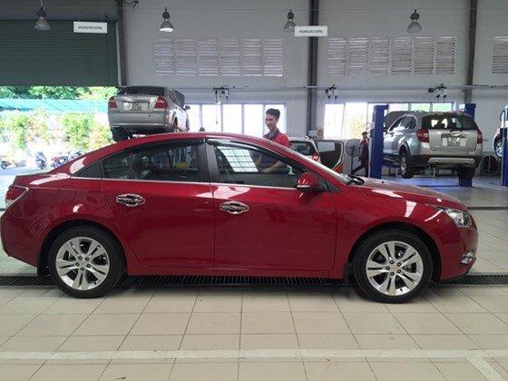 Bán xe Chevrolet Cruze đời 2015, màu đỏ, nhập khẩu, giá chỉ 612 triệu-2
