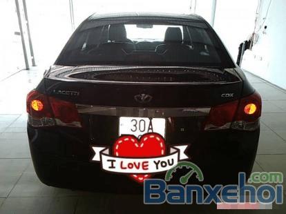 Xe Daewoo Lacetti CDX sản xuất 2010, màu đen, nhập khẩu chính hãng-4
