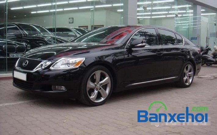 Cần bán xe Lexus GS 350 sản xuất 2009, màu đen, nhập khẩu nguyên chiếc đã đi 35000 km-1