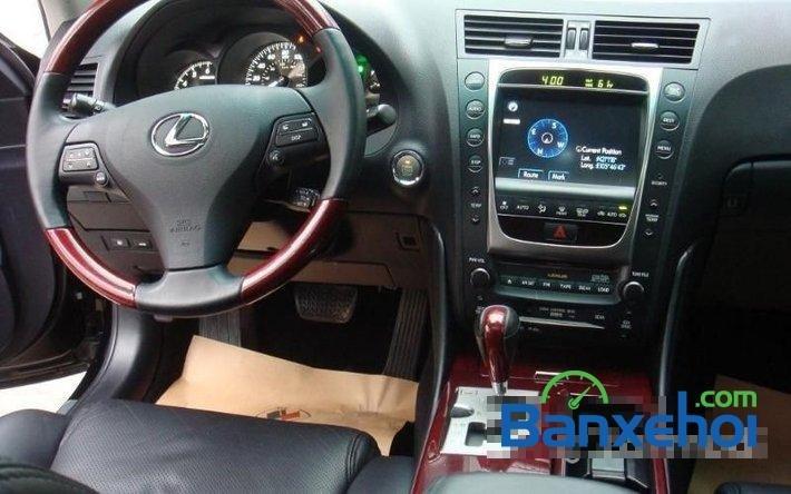 Cần bán xe Lexus GS 350 sản xuất 2009, màu đen, nhập khẩu nguyên chiếc đã đi 35000 km-7