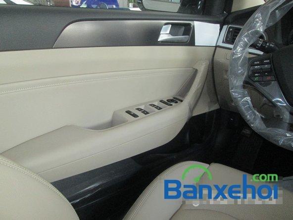 Bán ô tô Hyundai Sonata đời 2015, màu trắng-13