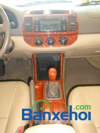 Bán ô tô Toyota Camry đời 2003, màu đen, nhập khẩu đã đi 86200 km-9