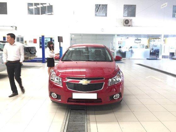 Bán xe Chevrolet Cruze đời 2015, màu đỏ, nhập khẩu, giá chỉ 612 triệu-7