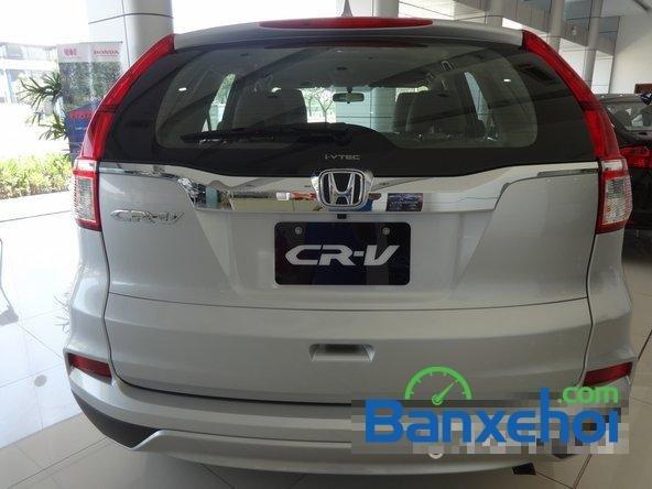 Cần bán xe Honda CR V đời 2015, màu bạc, gọi ngay 0938 500 503-4