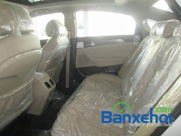 Bán ô tô Hyundai Sonata đời 2015, màu trắng-14