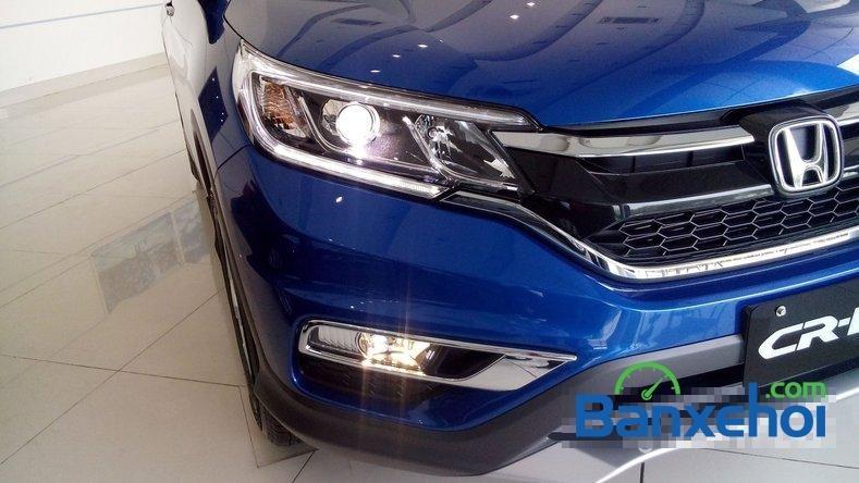 Cần bán Honda CR V 2.0AT đời 2015, màu xanh lam-5