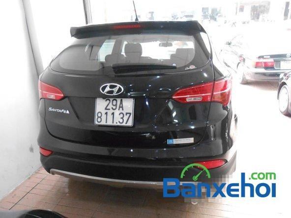 Cần bán xe Hyundai Santa Fe SLX đời 2013, màu đen đã đi 30000 km-4