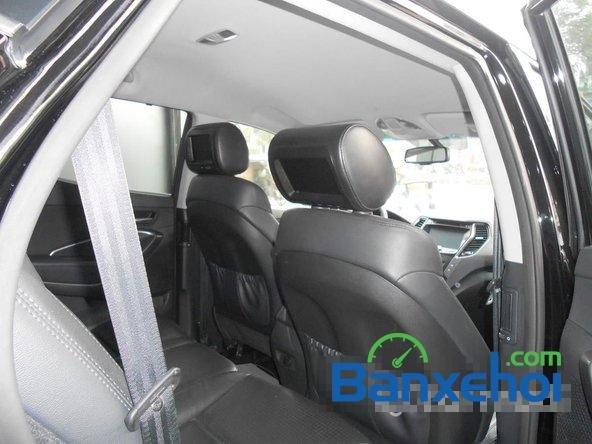 Cần bán xe Hyundai Santa Fe SLX đời 2013, màu đen đã đi 30000 km-12