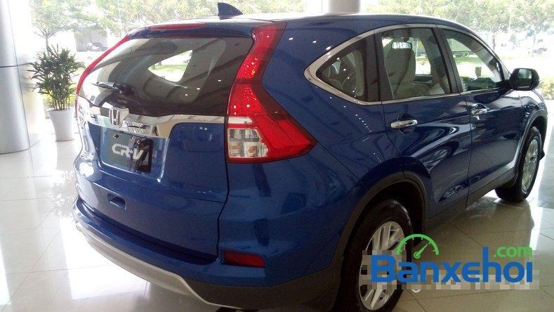Cần bán Honda CR V 2.0AT đời 2015, màu xanh lam-8