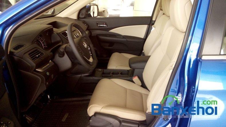 Cần bán Honda CR V 2.0AT đời 2015, màu xanh lam-10
