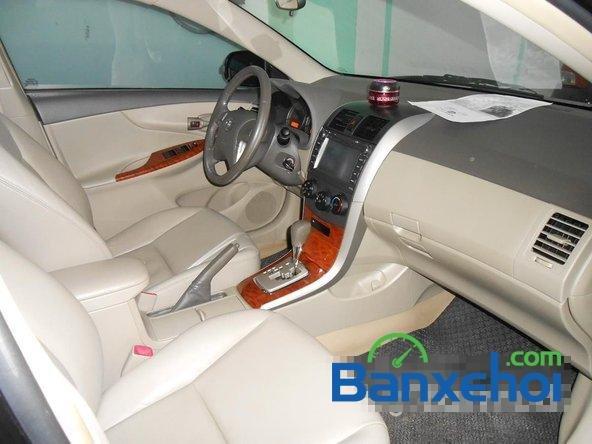 Cần bán lại xe Toyota Corolla altis 1.8 G đời 2010, màu đen đã đi 50000 km-7