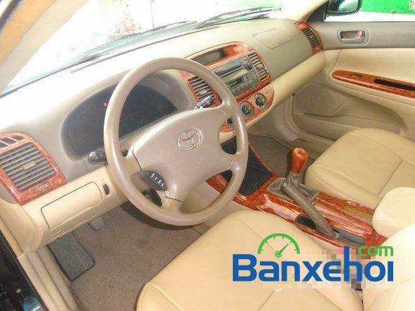 Bán ô tô Toyota Camry đời 2003, màu đen, nhập khẩu đã đi 86200 km-6