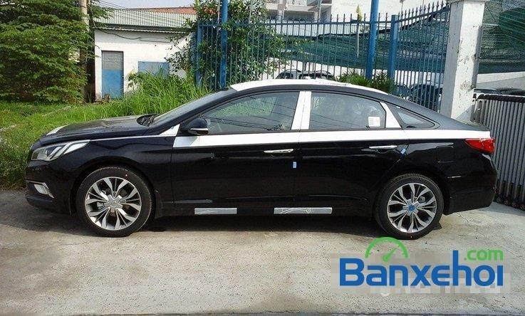 Bán Hyundai Sonata sản xuất 2014, màu đen, nhập khẩu chính hãng -1