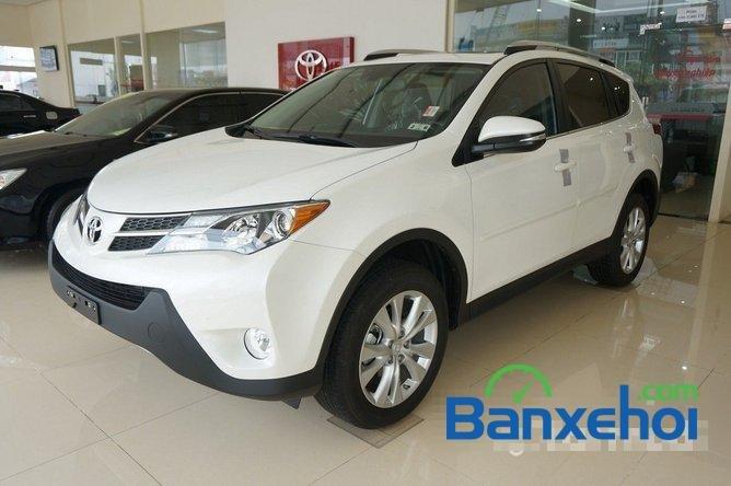 Cần bán Toyota RAV4 đời 2014, màu trắng, nhập khẩu nguyên chiếc-1