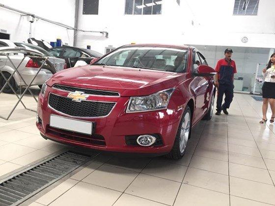 Bán xe Chevrolet Cruze đời 2015, màu đỏ, nhập khẩu, giá chỉ 612 triệu-0
