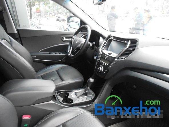 Cần bán xe Hyundai Santa Fe SLX đời 2013, màu đen đã đi 30000 km-7