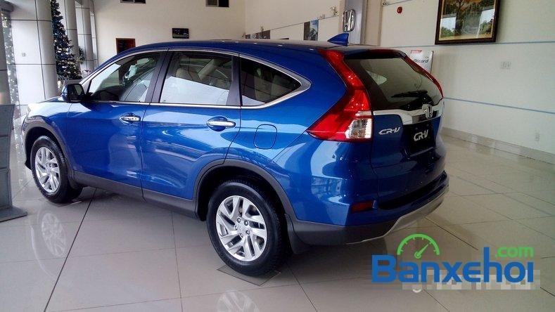 Cần bán Honda CR V 2.0AT đời 2015, màu xanh lam-7