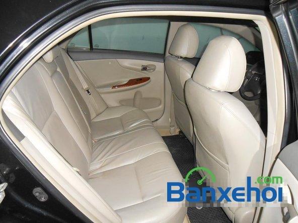 Cần bán lại xe Toyota Corolla altis 1.8 G đời 2010, màu đen đã đi 50000 km-12
