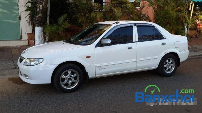 Bán ô tô Mazda 323 Classic đời 2003, màu trắng chính chủ-0
