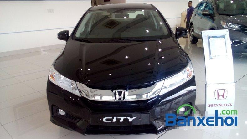 Cần bán Honda City 1.5L sản xuất 2015, màu đen-0
