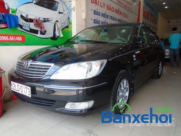 Bán ô tô Toyota Camry đời 2003, màu đen, nhập khẩu đã đi 86200 km-1