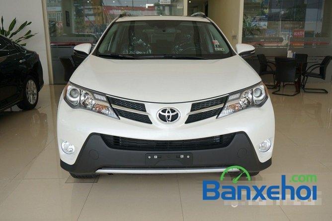 Cần bán Toyota RAV4 đời 2014, màu trắng, nhập khẩu nguyên chiếc-0