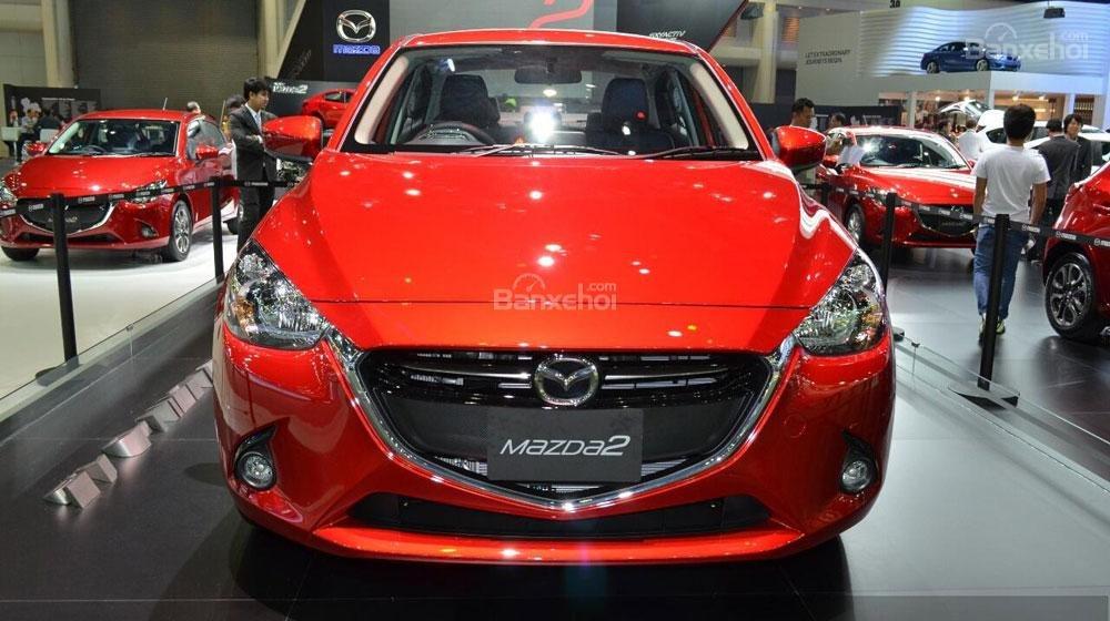Mua ngay Mazda 2 All New đời 2015, màu đỏ, nhập khẩu nguyên chiếc, giá khuyến mãi-1