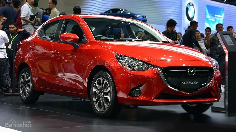 Mua ngay Mazda 2 All New đời 2015, màu đỏ, nhập khẩu nguyên chiếc, giá khuyến mãi-0