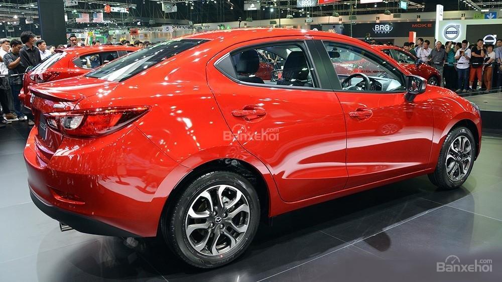 Mua ngay Mazda 2 All New đời 2015, màu đỏ, nhập khẩu nguyên chiếc, giá khuyến mãi-2