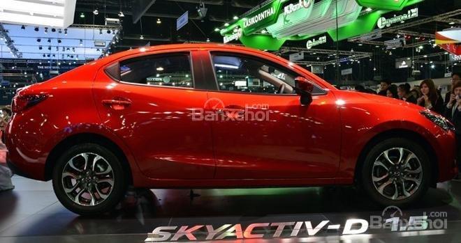 Mua ngay Mazda 2 All New đời 2015, màu đỏ, nhập khẩu nguyên chiếc, giá khuyến mãi-6