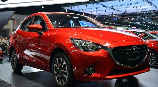 Mua ngay Mazda 2 All New đời 2015, màu đỏ, nhập khẩu nguyên chiếc, giá khuyến mãi-5