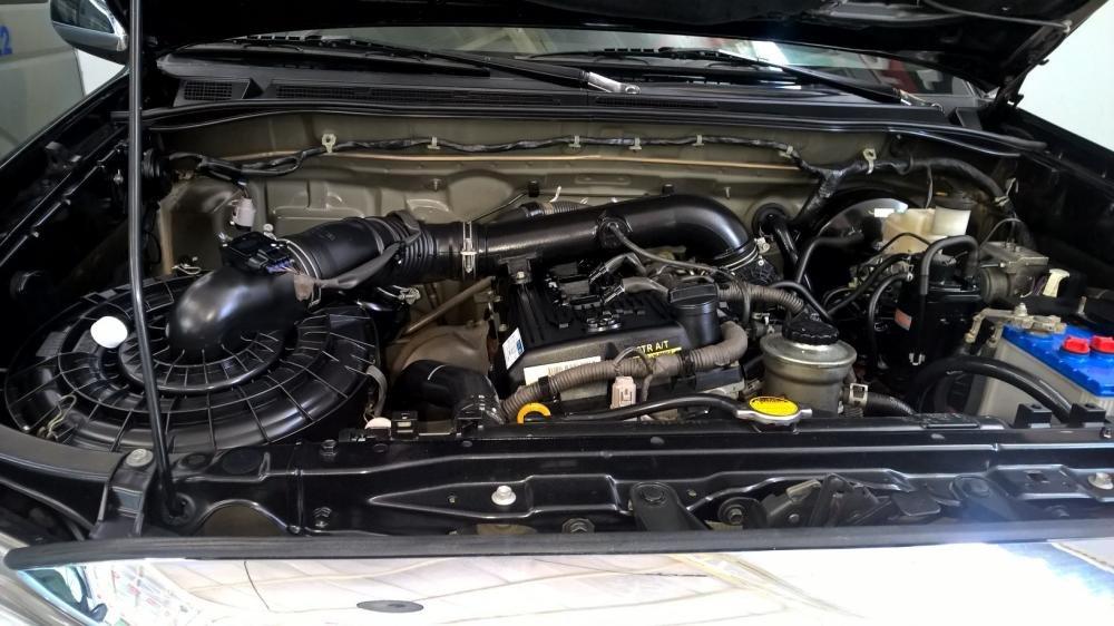 Toyota Đông Sài Gòn xe đã qua sử dụng đang bán Fortuner V màu đen-7