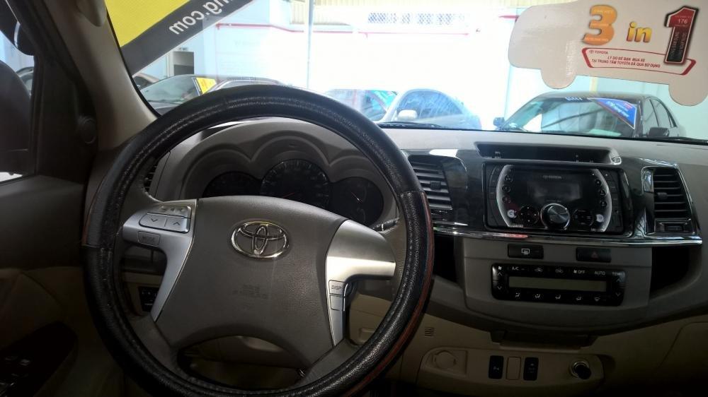 Xe Toyota Fortuner đời 2012, màu bạc, xe nhập, giá tốt-5