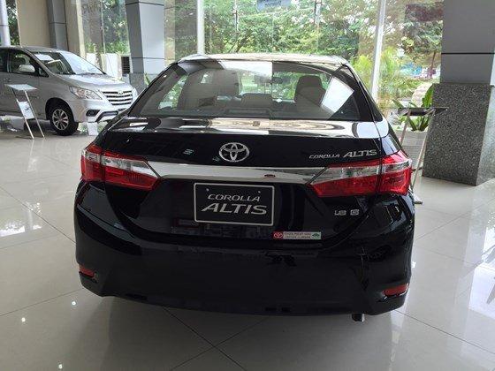 Toyota Corolla Altis đời 2015, màu đen, xe nhập, 815 triệu có xe giao ngay-7