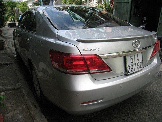 Gia đình bán Toyota Camry 2.4L SX cuối 2012 màu bạc nội thất màu da kem rất đẹp-15