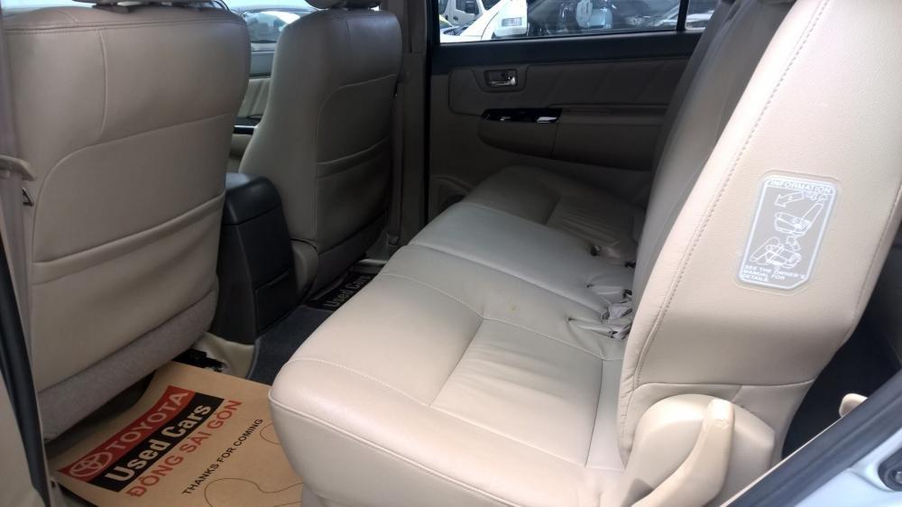 Xe Toyota Fortuner đời 2012, màu bạc, xe nhập, giá tốt-4