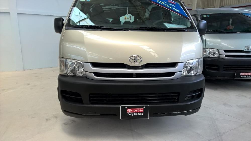 Toyota Đông Sài Gòn xe đã qua sử dụng đang bán Hiace màu ghi vàng-0